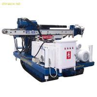 Quality High Efficiency Full Hydraulic Skid Mounted Drilling Rig Depth 50 - 60 m wholesale