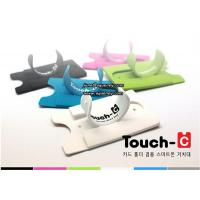 Quality Any pantone color can be custom made Touch-C phone stand with wallet wholesale