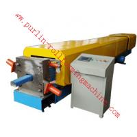 Quality Automatic Water Drainage Pipe Roll Forming Machine / Metal Eaves Gutter Equipment wholesale