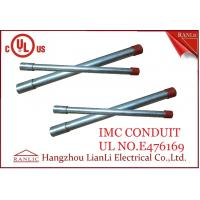 Hot Dip Rigid Intermediate Metal Conduit IMC Conduit Pipe 1/2