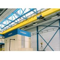 Quality Single Girder Travelling Overhead Crane With Monorail Electric Hoist FEM / DIN Standard wholesale