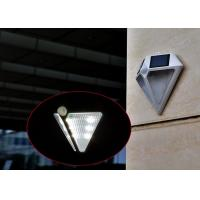 Quality Diamond Shaped IP65 Solar LED Motion Sensor Light , Solar Powered Outdoor Security Lights wholesale