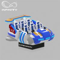 Quality 6 Seats VR Motion Simulator Virtual Reality Cinema Entertainment Simulation Rides wholesale