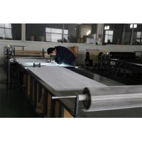 China Plain Woven 316l Stainless Steel Mesh Sheet Smooth Surface For Oil Filter on sale