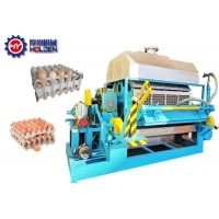 Quality 8 Sides Rotary Pulp Molding Paper Egg Tray Making Machine wholesale