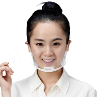 Quality Food Service Sanitary Transparent Plastic Mouth Cover wholesale
