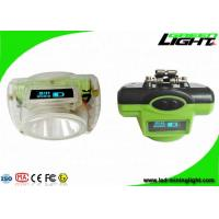 Buy cheap Safety Underground Coal Miners Lamp 13000lux Brightness 14-16hrs Long Lighting from wholesalers