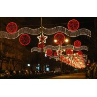 China outdoor commercial christmas light happy new year on sale