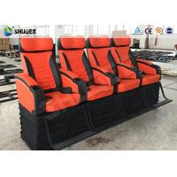 Quality Latest Design 4D Cinema System Simulator Ride Chair 4D Outdoor Kino wholesale