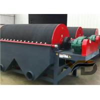 China Permanent Wet Magnetic Drum Separator For Metal Mine , Mineral Processing on sale