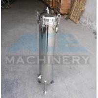 Quality Stainless Steel Multiple Bag Cartridge Filter For Ultra Purification Bags Water Filter Machine wholesale