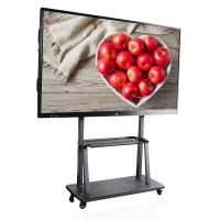China 86 Inch Smart Touch Screen Monitor , Multi Touch Interactive Touch Screen Whiteboard on sale