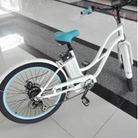 Quality 250W Brushless Motor Womens Electric Bike with LCD display 6 Speed  Bike wholesale