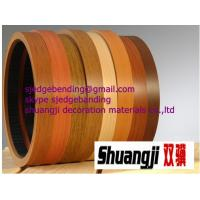 China hot selling woodgrain pvc edge banding for furniture on sale