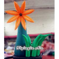 Quality 4m Height Ground Inflatable Flower for Event And Wedding Decoration wholesale