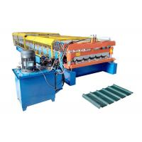 China 3.5 Tons Trapezoidal Sheet Roll Forming Machine , Sheet Metal Roll Forming Machines 380V on sale