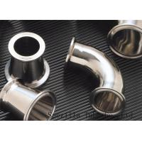 """Quality Clamped Sanitary Valves And Fittings , Stainless Steel Valves And Fittings 1""""x1.65mm wholesale"""