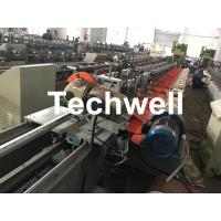 Quality Aluminum, Galvanized Steel Cold Roll Forming Machine For Octagonal Tube Pipe Equipment With Making Rolling Shutter Axes wholesale