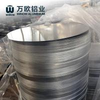 Quality Smooth Round Anodized Aluminum Discs Corrosion Resistant Natural Color wholesale