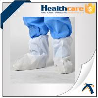 China Slip Resistant Disposable Shoe Covers , Disposable Waterproof Shoe Protectors on sale