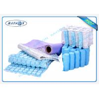 Quality 9G-120 Gram Multi Color 47cm Width PP Spunbond Non Woven Fabric For Box Spring Cover wholesale