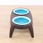 Quality Portable Best Christmas Double Pet Dog Cat Food Bowls Manufacturer wholesale
