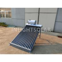 Quality Home Appliances Assistant Tank Solar Water Heater With Polyurethane Foam Tube Coating wholesale