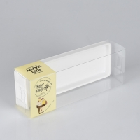 China Gift PET PVC PP Clear Retail Plastic Packaging Boxes on sale