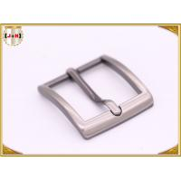 Cheap Single Prong Square Metal Fashion Belt Buckles Zinc Alloy Nickel Plating for sale