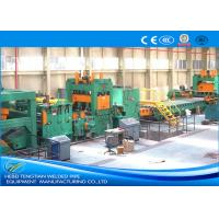 Quality PLC Control Cut To Length Machine , Steel Coil Cutting Machine With Adjustable Speed wholesale