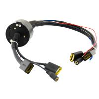 Quality Hollow Shaft HDMI Slip Ring with No Packet Loss and Low Return Loss Smooth Running for UAV wholesale