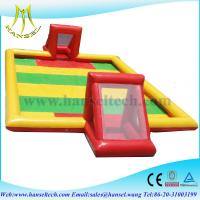 Quality Hansel Inflatable football field inflatable soccer field wholesale