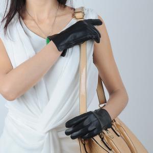 Quality 10W-621 lady/women sheepskin leather gloves wholesale