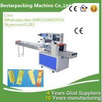 China popsicle  pillow flow pack packaging machine on sale