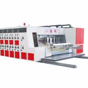 China 35kw 380V Printing Slotting Die Cutting Machine Easy Maintaining on sale