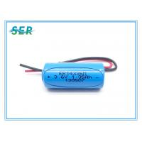 China Spiral Type 3.6V 1200mAh Lithium Primary Battery 2/3AA Size ER14335M For Water Heating Meter on sale