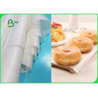 China 22 GSM 31 GSM Greaseproof Paper Roll Heat Resistant Non Stick Baking Paper on sale