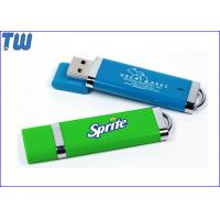 Quality Rubber Finished Plastic Colorful Usb Pendrive Flash Drive with Free Logo Printing wholesale