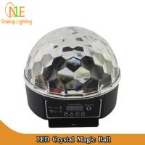 Quality DJ Light LED crystal magic ball| LED effect light | LED stage light|Guangzhou Stage Light wholesale