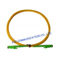 Quality E2000 Fiber Optic Patch Cord SM G.652D Fiber Simplex 3.0mm For Telecom Networks wholesale