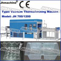 Buy cheap Hot Sale Automatic PVC Plastic sheet Vacuum Thermoforming Machine For Food Trays product