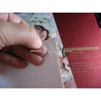 """China Frosted PVC cold lamination film size 25""""x50meters, for wedding photos, art photos, album cover on sale"""