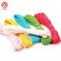 Quality 1.5mm Diameter 2 Plies Twisted Paper Rope For Decoration / Polypropylene Tying Twine wholesale