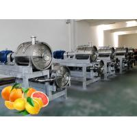 China Custom Citrus Juice Fruit Processing Line SUS304 Stainless Steel Material on sale