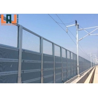 Customized Galvanized Sound Barrier Fence Width 500mm Acoustic Barrier Panels for sale