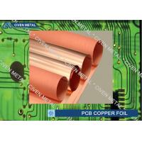 Quality Roll Size S - HTE Electrolytic Copper Foil For PCB  Made Of Red Copper wholesale