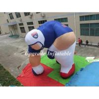 Quality custom giant NFL inflatable sport man balloon ,inflatable football player for advertising wholesale