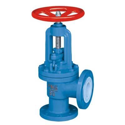 Fluorine stop valve J44F46-16C