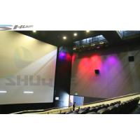 Quality Cinema Dynamic 5D Movie Theater , 5D Cinema System for Family wholesale