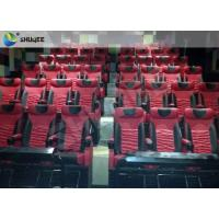 Quality Cinema System 4D Movie Theater Environment Effect With Chair Effect Water / Air Spray wholesale